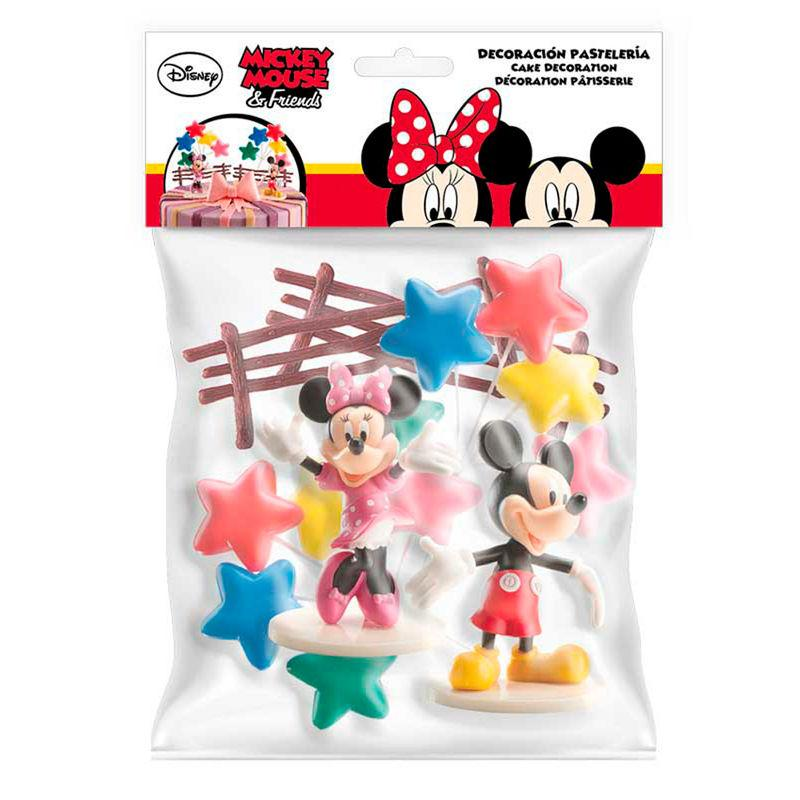 Set Figuras Mickey & Minnie Disney