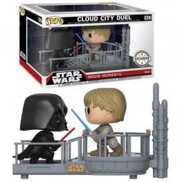 Set Figuras Pop Star Wars Cloud City Duel Darth Vader & Luke Exclusive