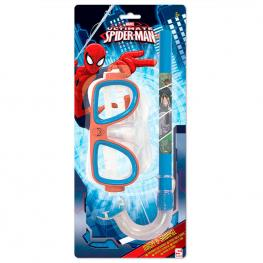 Set Gafas Tubo Spiderman Marvel