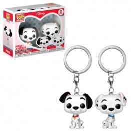 Set Llaveros Pocket Pop Disney Pongo & Perdita