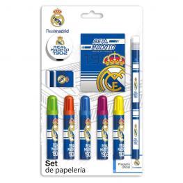 Set Papeleria Real Madrid 9Pzs