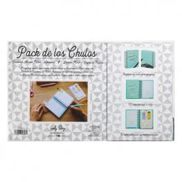 Set Regalo Cuaderno A6 + Tarjeta + Llavero Cosas