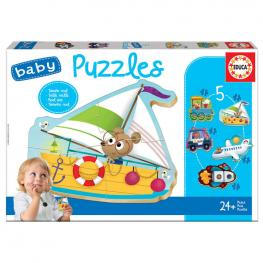 Puzzle Vehiculos 2
