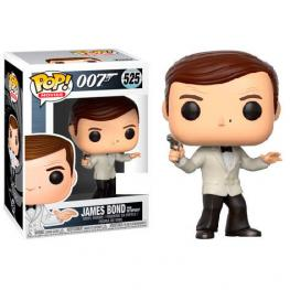 Figura Pop James Bond Roger Moore White Tux Exclusive