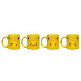 Set Taza Espresso Pikachu Pokemon