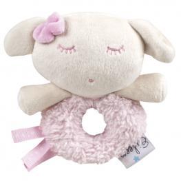 Sonajero Peluche Eileen The Sleep Baby Soft Rosa