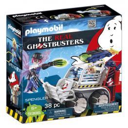 Spengler Con Coche Cazafantasmas Ghostbusters Playmobil