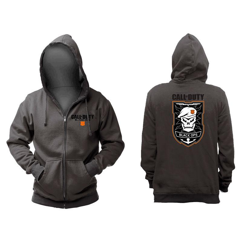 Sudadera Patch Call Of Duty Black Ops 4 Capucha