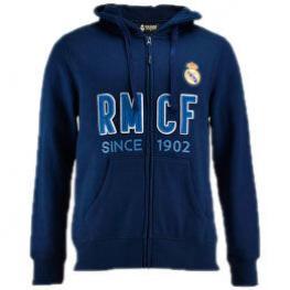 Sudadera Real Madrid Abierta Marino Junior