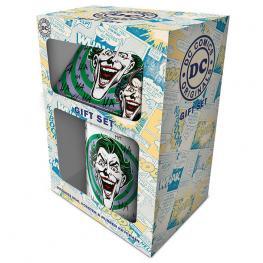 Pack Regalo Taza Llavero Joker Dc Comics