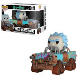 Figura Pop Ride Rick & Morty Mad Max Rick