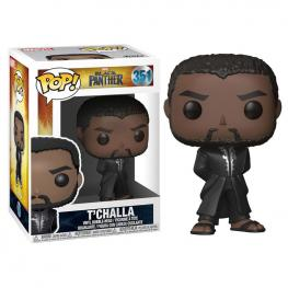 Figura Pop Marvel Black Panther Robe Black