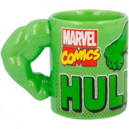 Taza 3D Brazo Hulk Marvel