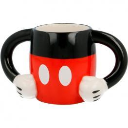 Taza 3D Cuerpo Mickey Disney