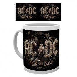 Taza Ac/dc Rock Or Bust