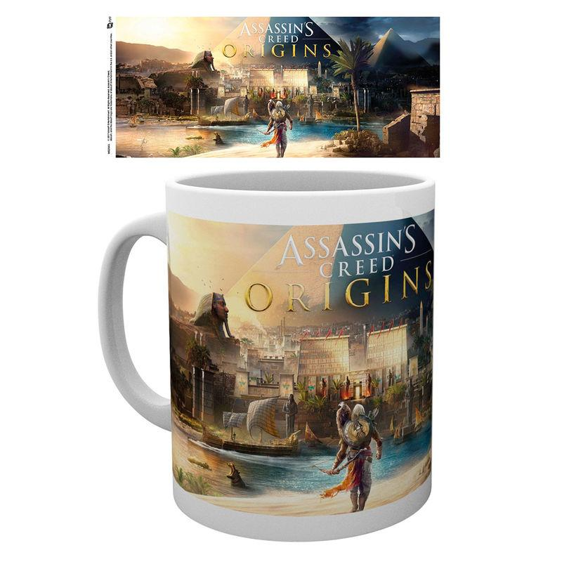 Taza Assassins Creed Origins Cover