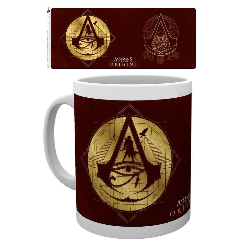 Taza Assassins Creed Origins Gold Icons