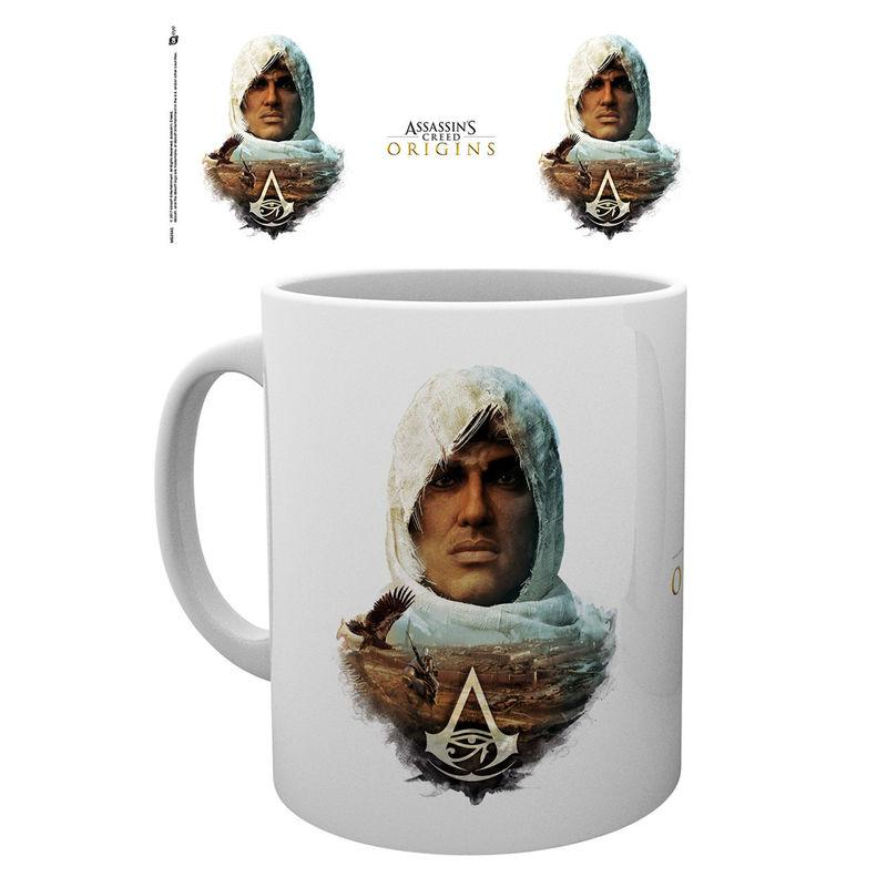 Taza Assassins Creed Origins Head