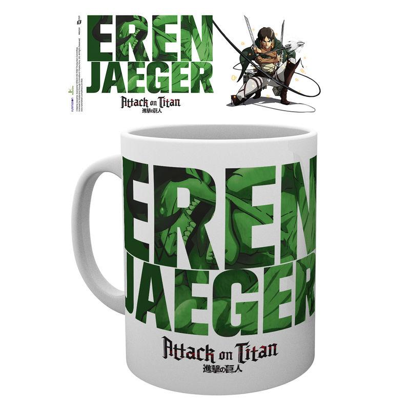 Taza Attack On Titan Season 2 Eren