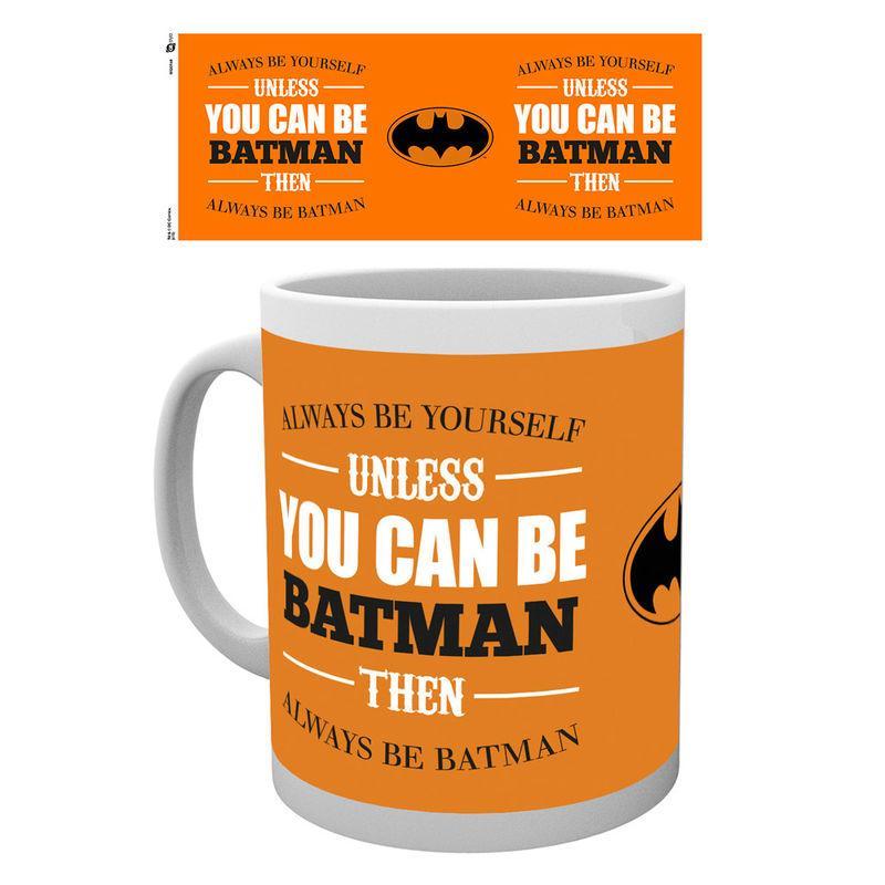 Taza Batman Be Yourself Dc