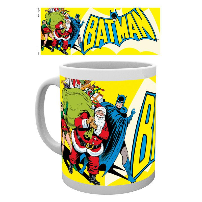 Taza Batman Christmas Dc
