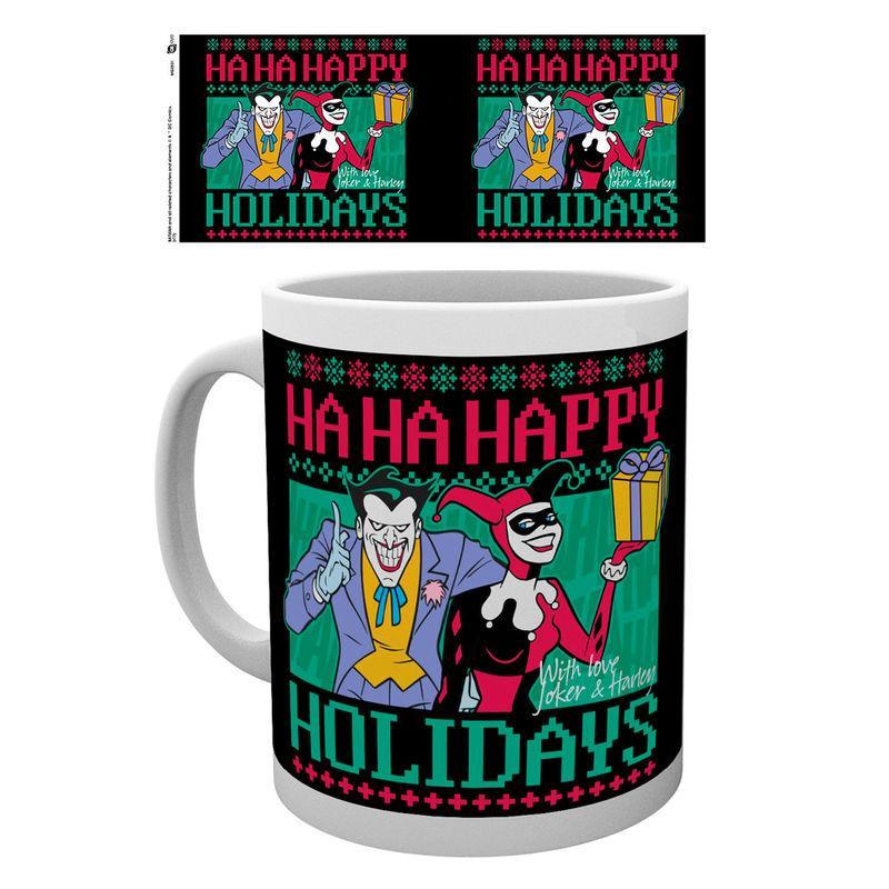 Taza Batman Comics Happy Holidays
