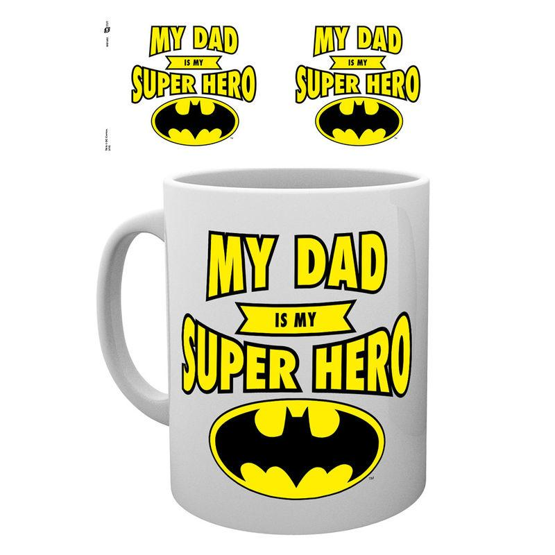 Taza Batman Dad Superhero Dc