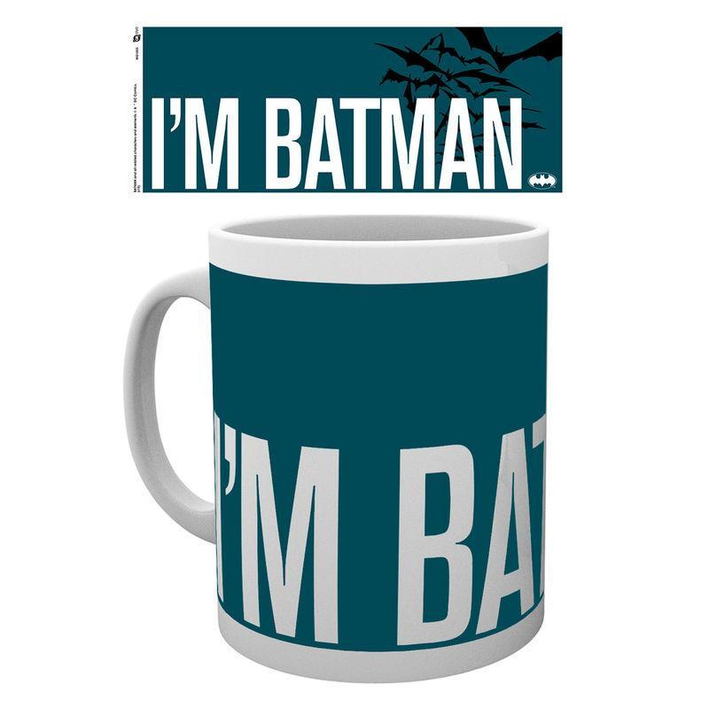 Taza Batman I'm Batman Simple Dc