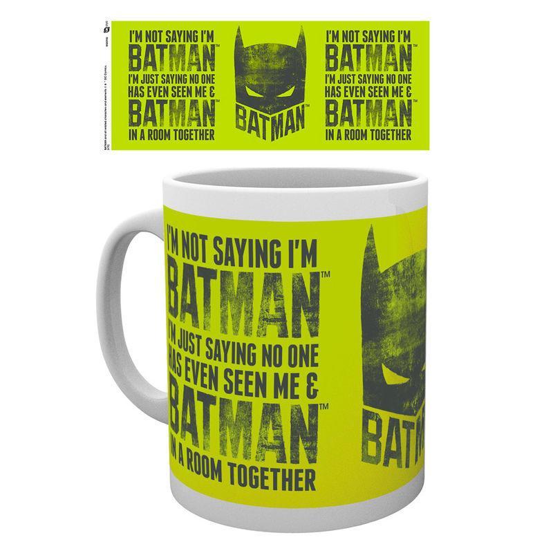 Taza Batman I'm Not Saying Dc