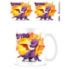 Taza Bola de Fuego Spyro The Dragon