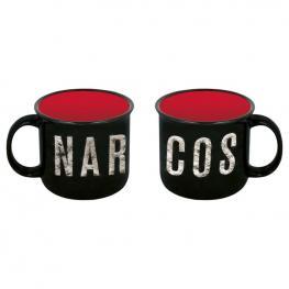 Taza Ceramica Narcos