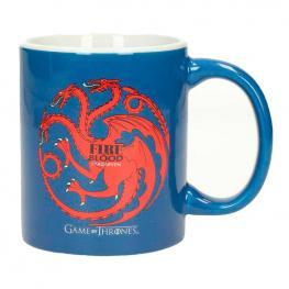 Taza Ceramica Targaryen Juego de Tronos Azul