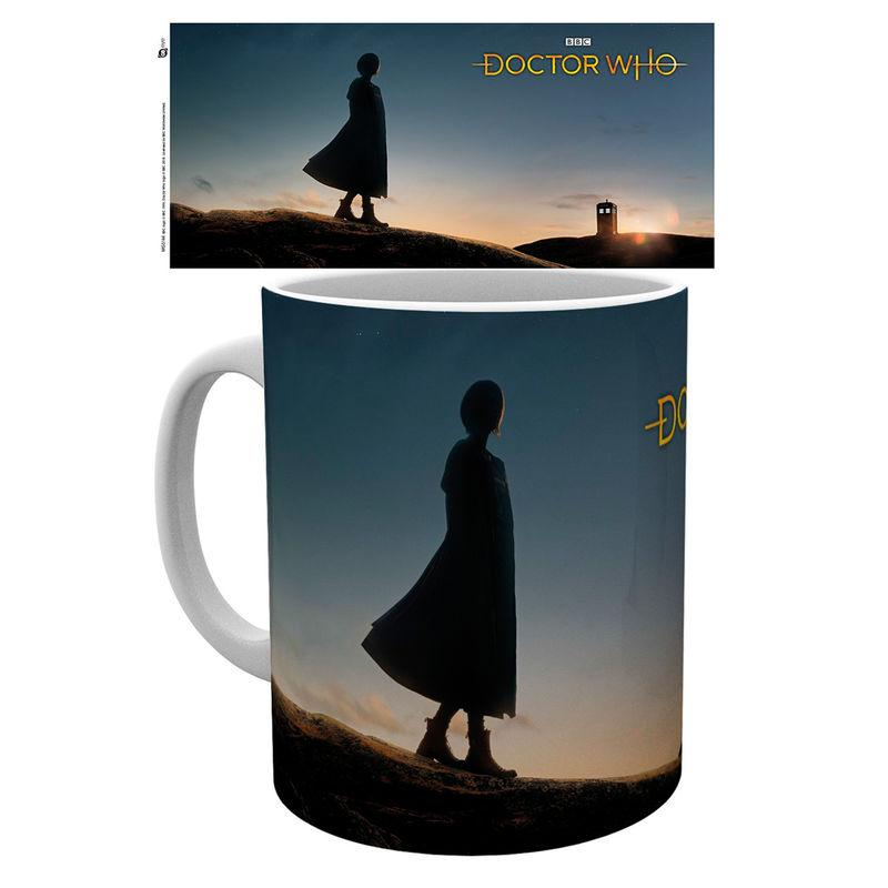 Taza Doctor Who 13Th Doctor Silhouette