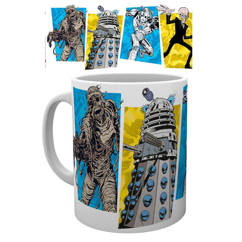 Taza Doctor Who Panels
