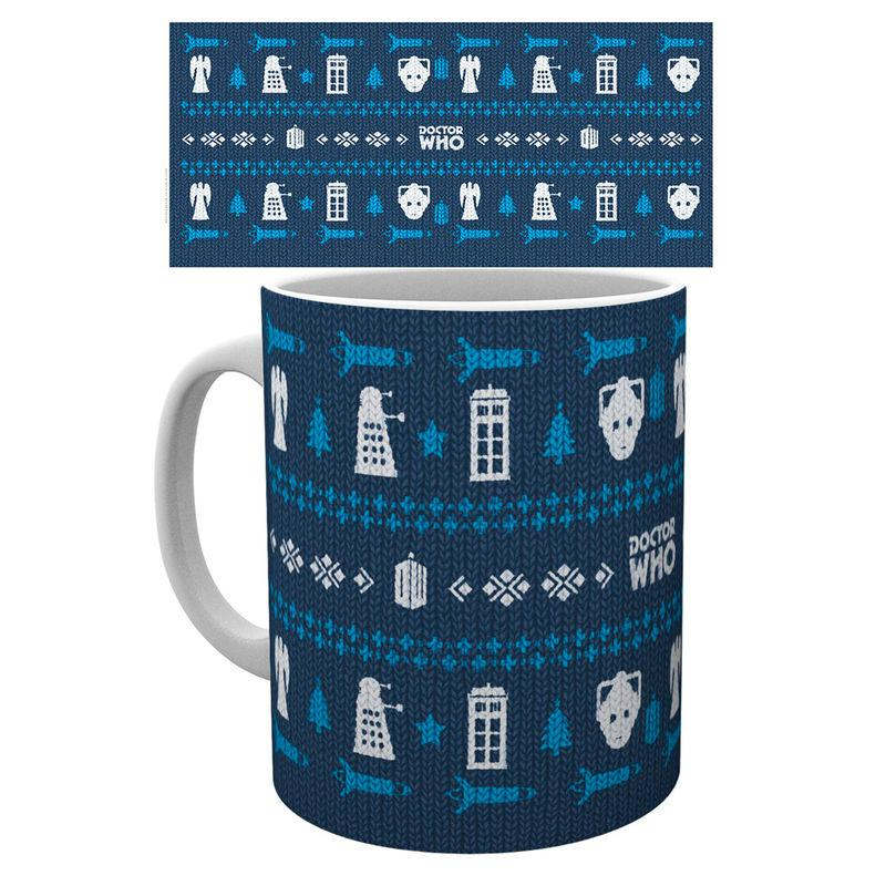 Taza Doctor Who Universe Ugly Sweater