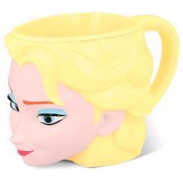 Taza Elsa Frozen Disney 3D
