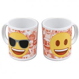 Taza Emoji Faces Sunglasses Ceramica