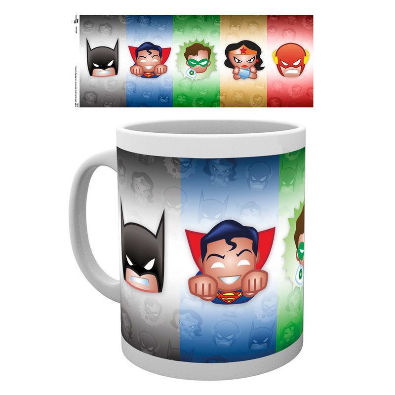 Taza Emoji Justice League Dc