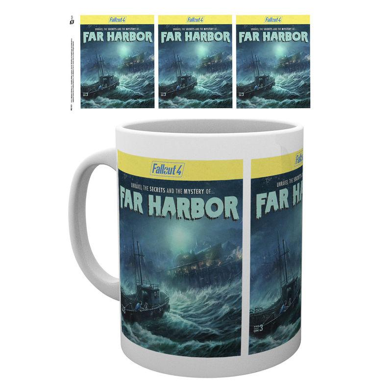 Taza Fallout 4 Far Harbour