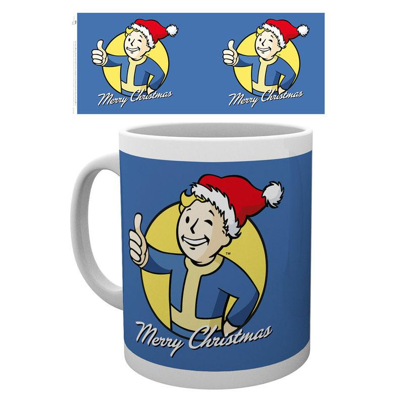 Taza Fallout Merry Christmas