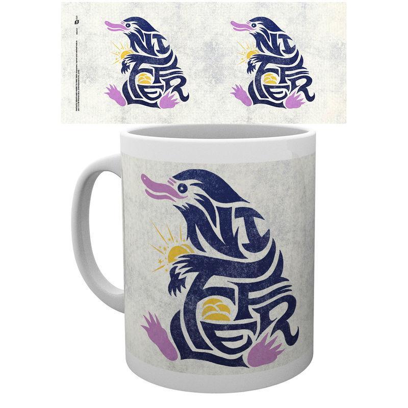 Taza Fantastic Beasts Niffler Graphic Symbol