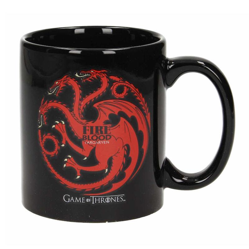 Taza Fire And Blood Targaryen Juego de Tronos