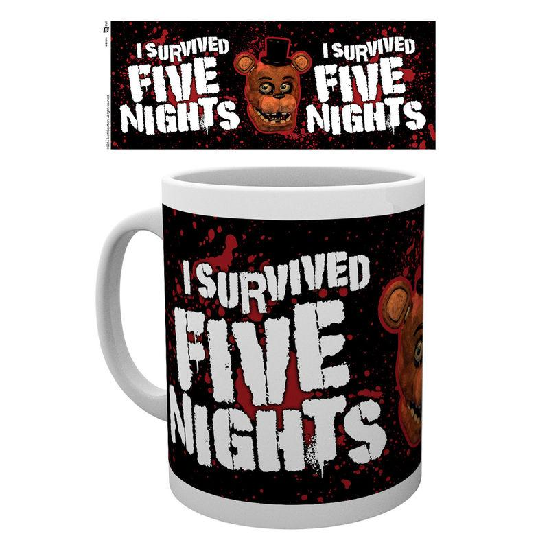 Taza Five Nights At Freddys I Survived