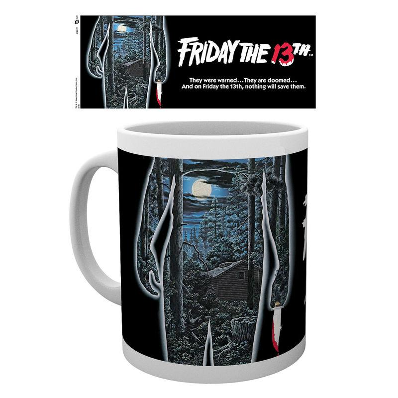 Taza Friday The 13Th Poster