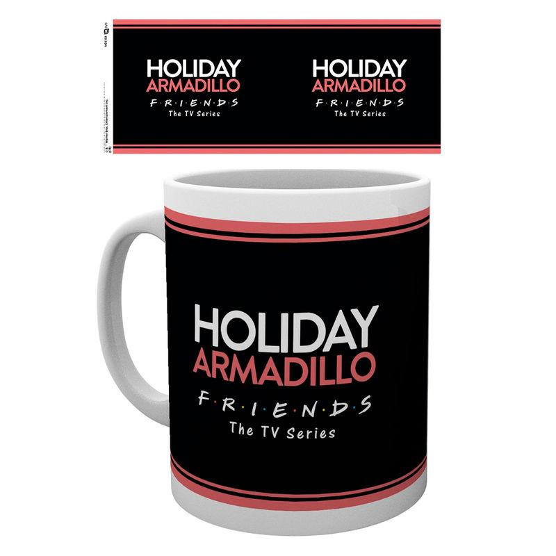Taza Friends Holiday Aramdillo
