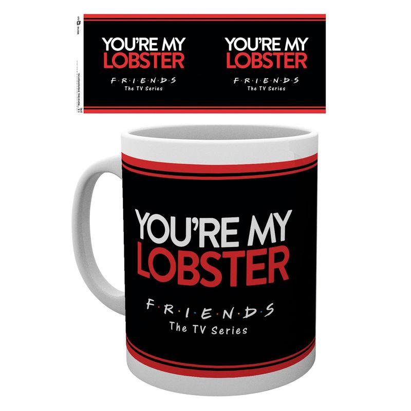 Taza Friends You Ate My Lobster