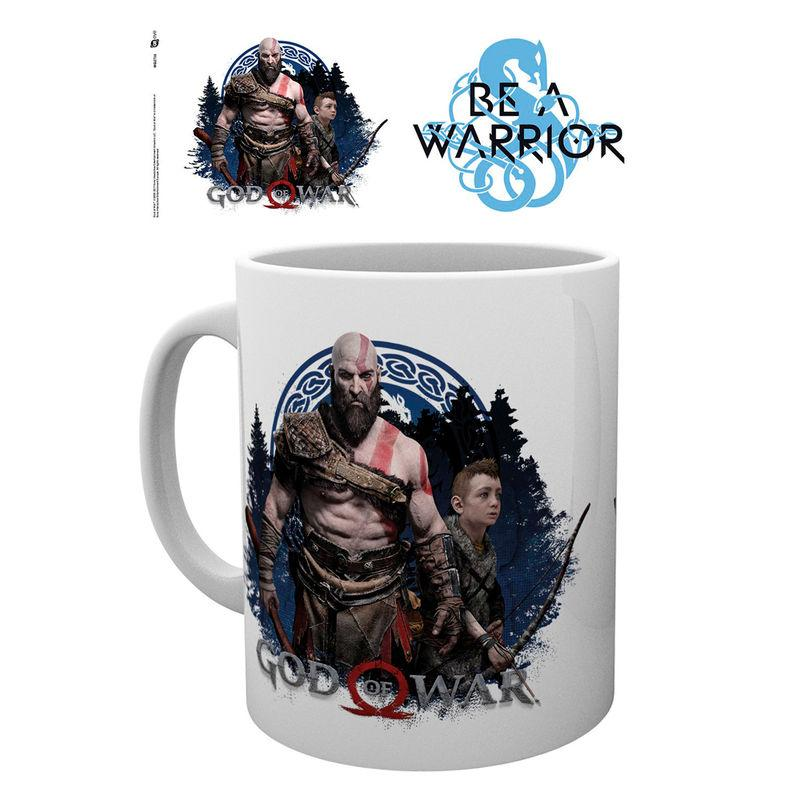 Taza God Of War Be A Warrior