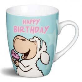 Taza Happy Birthday Nici
