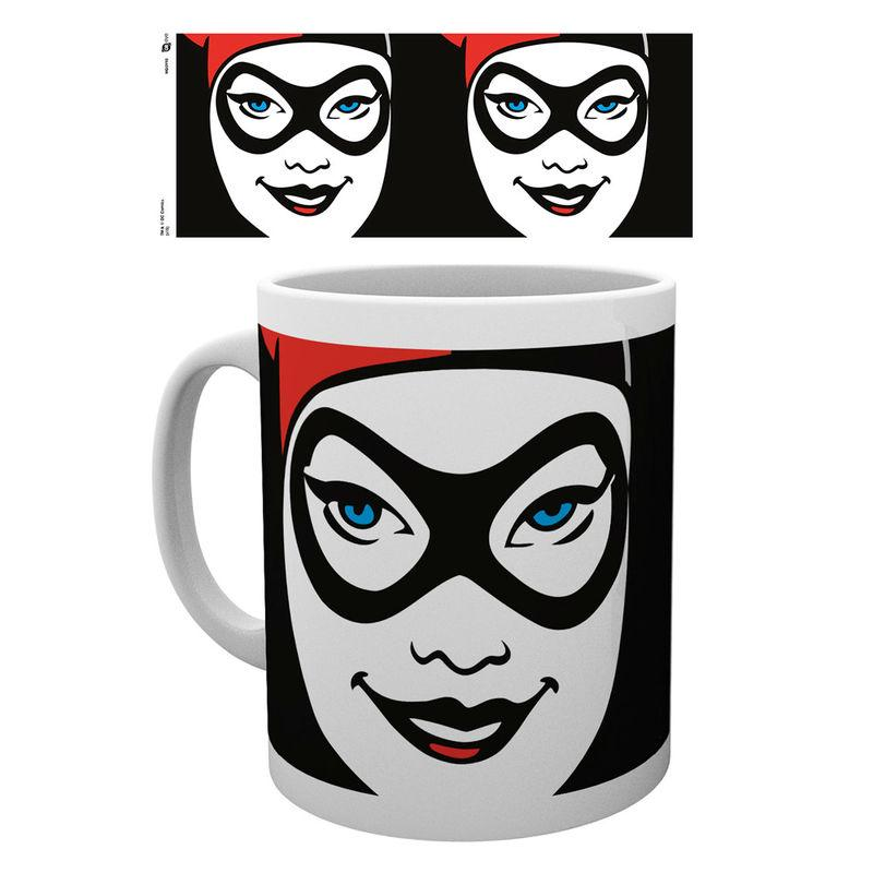 Taza Harley Quinn Face Dc
