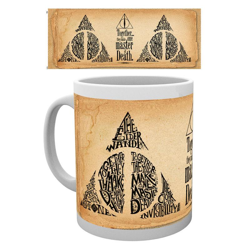 Taza Harry Potter Deathly Hallows Words